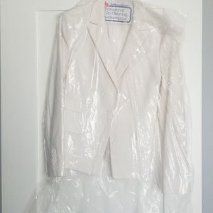Off white evening jacket